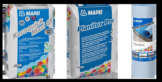 De nieuwe producten van Mapei