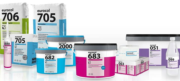 De nieuwe producten van Forbo Eurocol