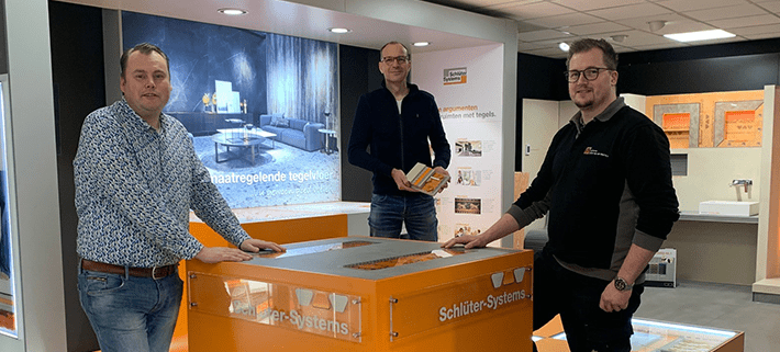 De nieuwe medewerkers van Julius van der Werf